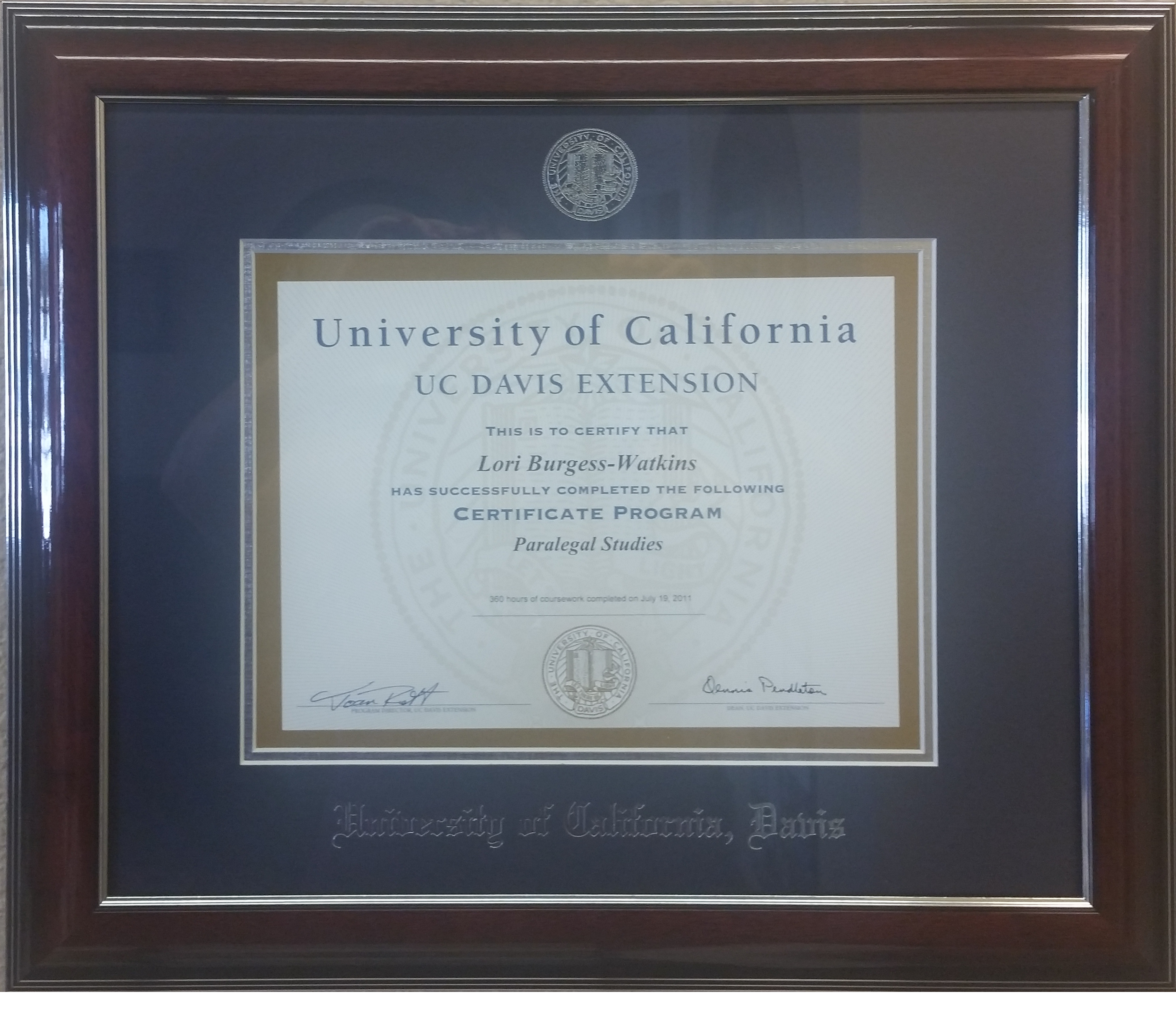 About us placer paralegal framed certificate xflitez Image collections